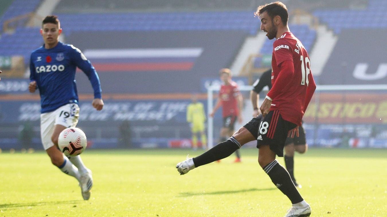 No player has been involved in more Premier League goals in his first 10 away games than Bruno Fernandes - Bóng Đá